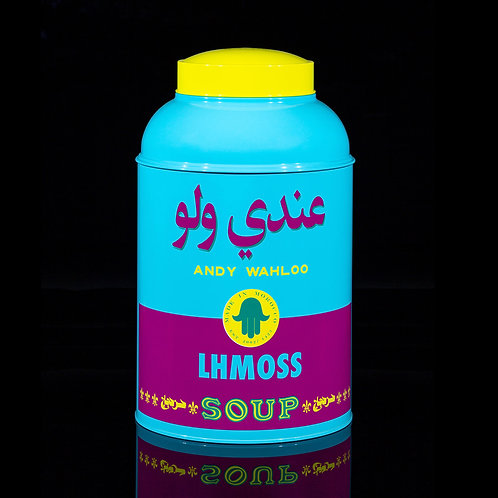 Hassan Hajjaj - Andy Wahloo Edition - Lhmoss (Maroc)