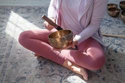 Kelly Upson & Tibetan bowl
