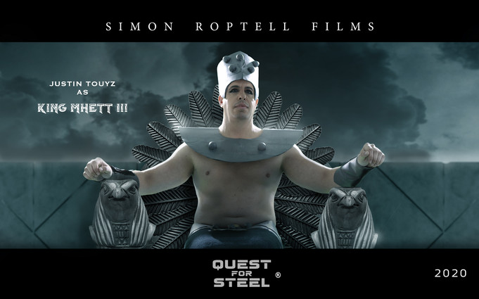 Egyptian King movie. Quest for steel 202