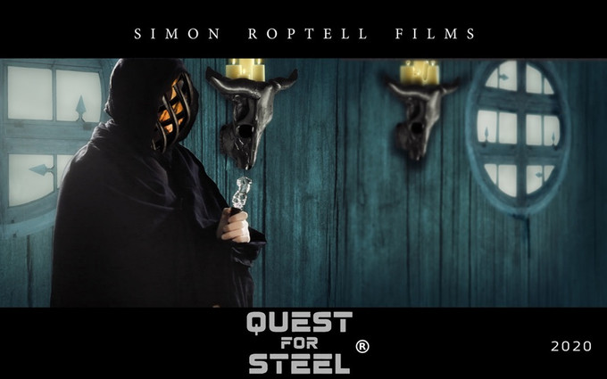 The Ferryman of castle doom. in Quest for Steel.(copyright) Roptell.
