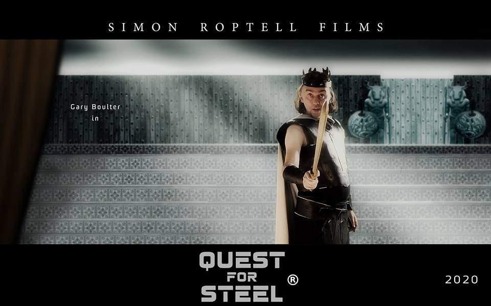 Gary Boulter in Quest for Steel. Simon Roptell Films.