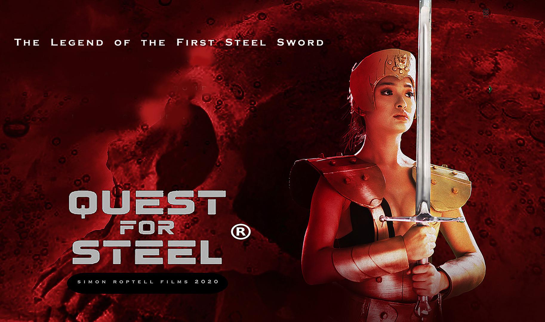 "Tegra Fez in ""Quest for Steel. © Simon Roptell Films. 2020 movie"