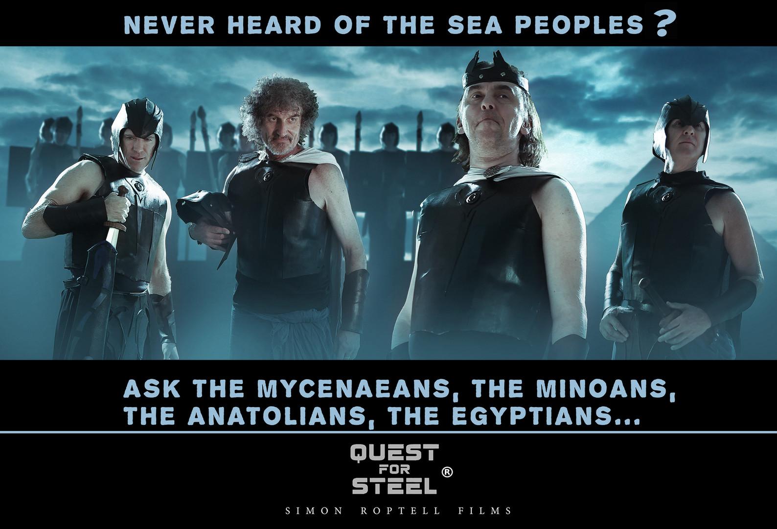 the Sea Peoples, Quest for Steel. Australian fantasy movie. Australia