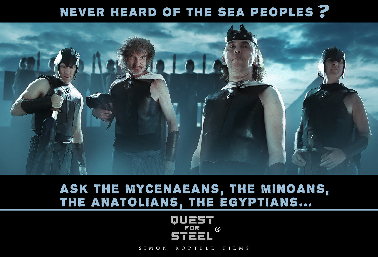 the Sea Peoples, Quest for Steel. simon