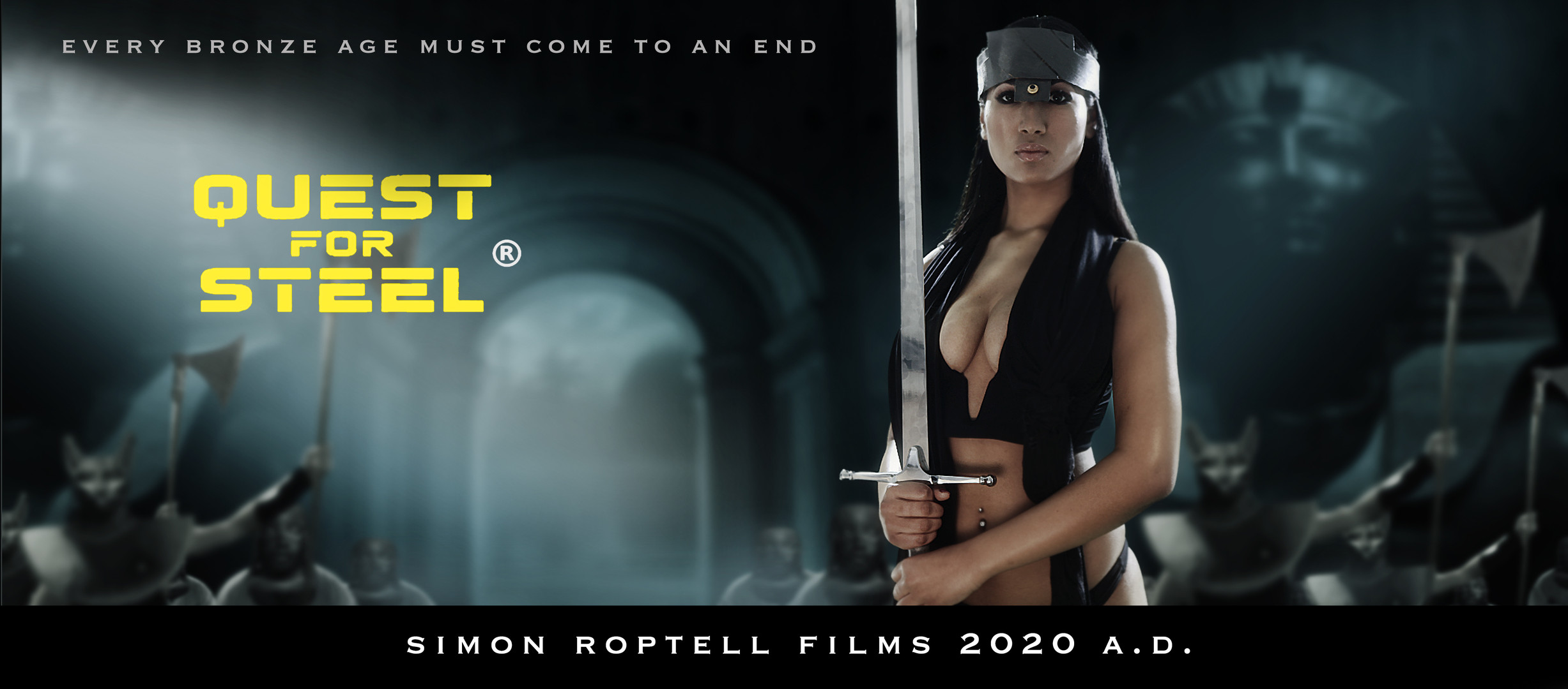 """Sahina Quest for Steel """"Sword movies"""""""