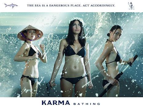 Karma Bathing