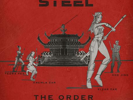 """New """"Order of the Bo"""" comic art"""
