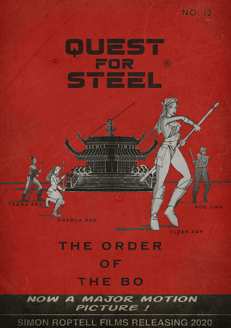 Order of the Bo. sword and sorcery comic