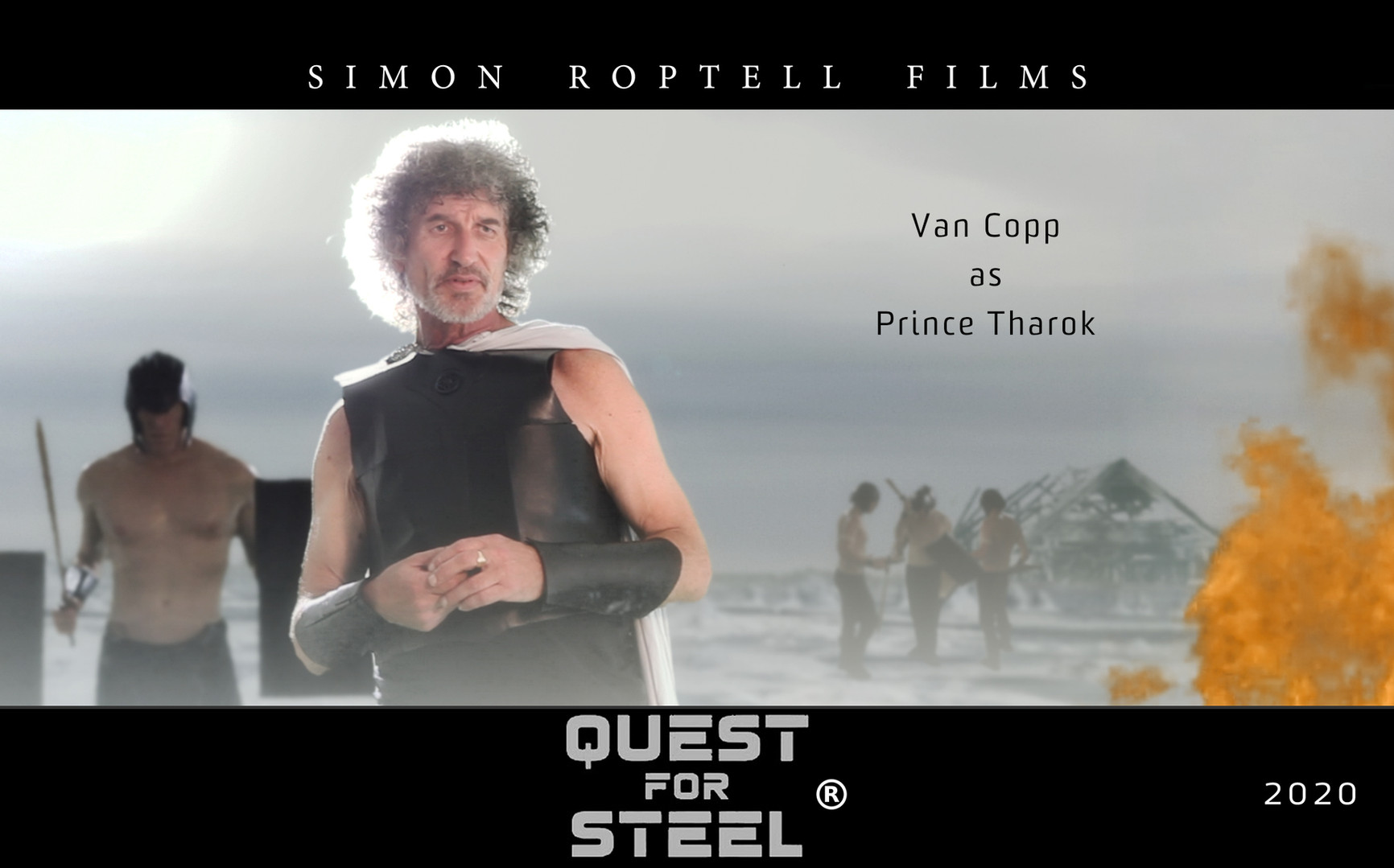 Prince of the Sea Peoples in Quest for Steel. Simon Roptell Films.