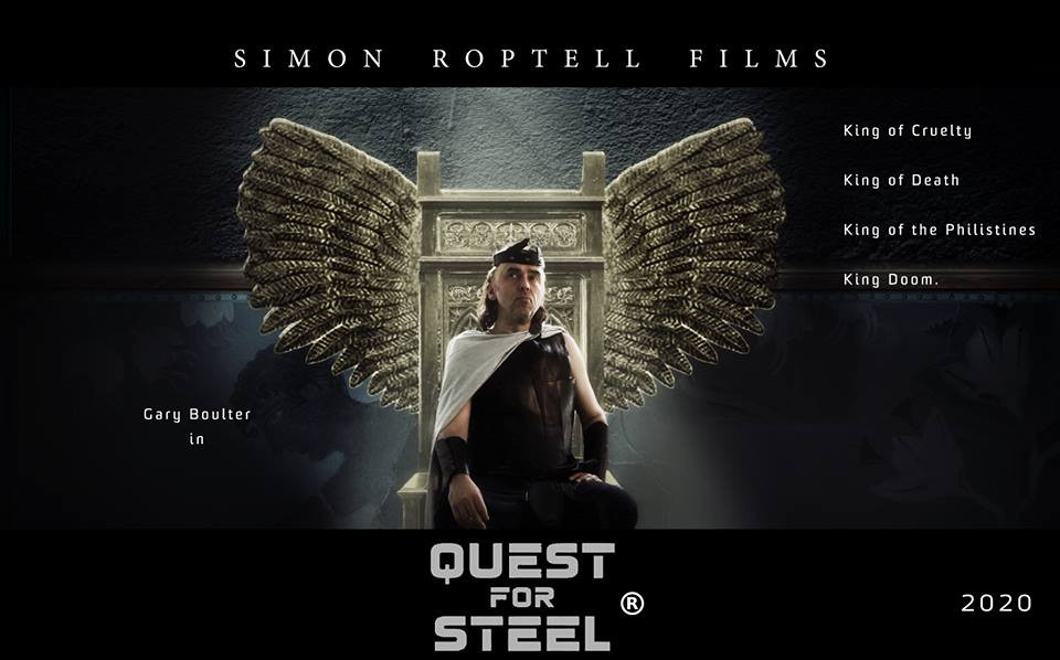 Gary Boulter in Quest for Steel. Simon Roptell Films.