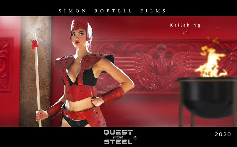 """Kailah Ng as Doe Jing in """"Quest for Steel. © Simon Roptell Films. 2020 movie"""