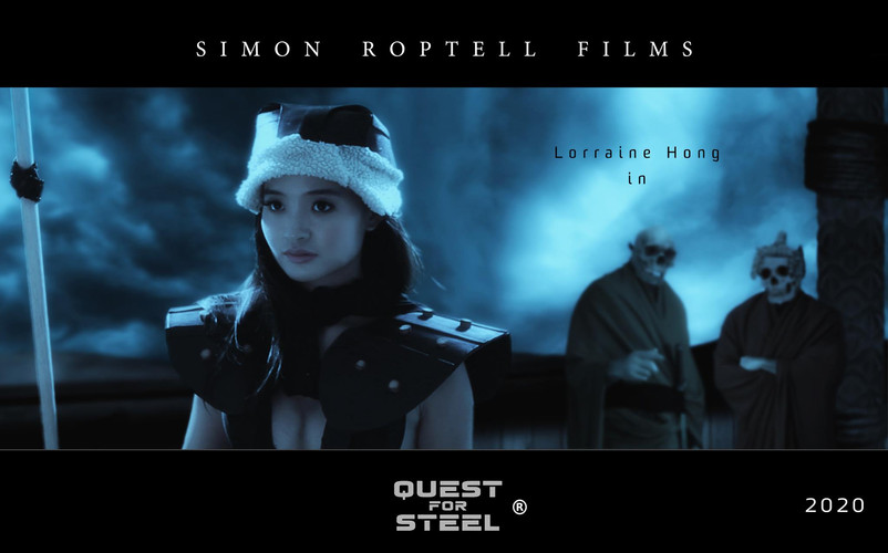 """Lorraine Hong as Tegra Fez in """"Quest for Steel. © Simon Roptell Films. 2020 movie"""