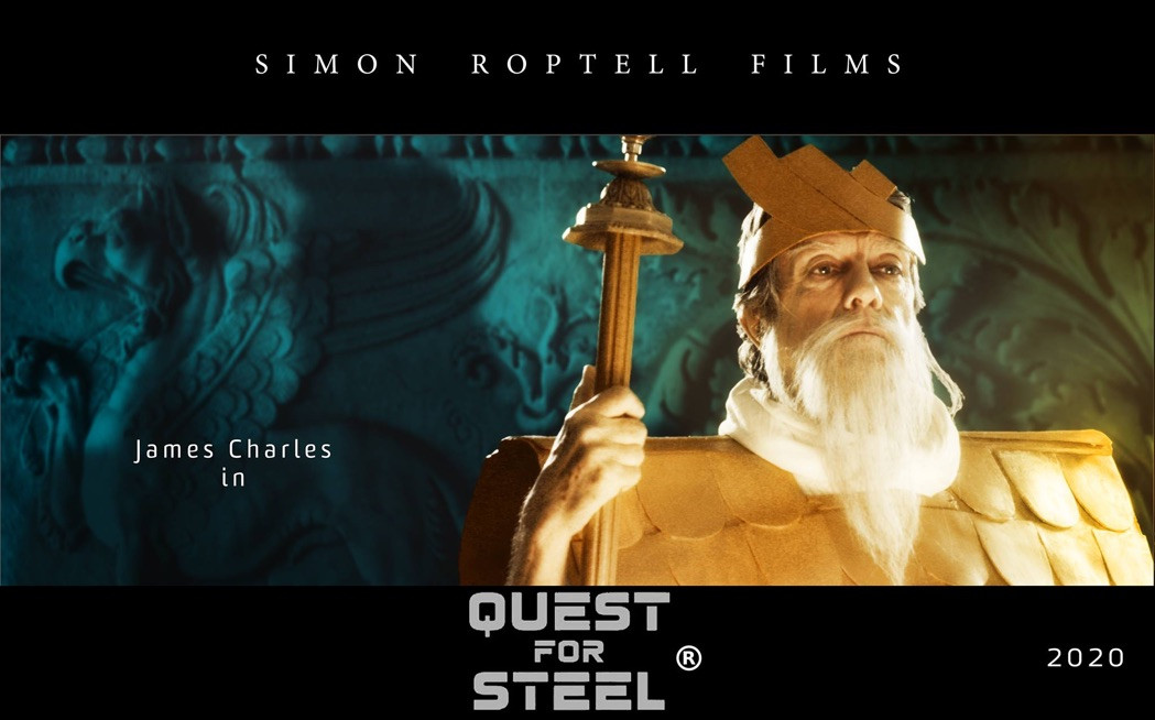 Quest for steel. Simon Roptell films