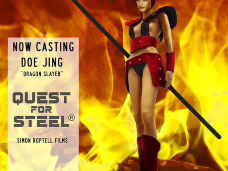 CASTING: The search for supporting actress Doe Jing begins.
