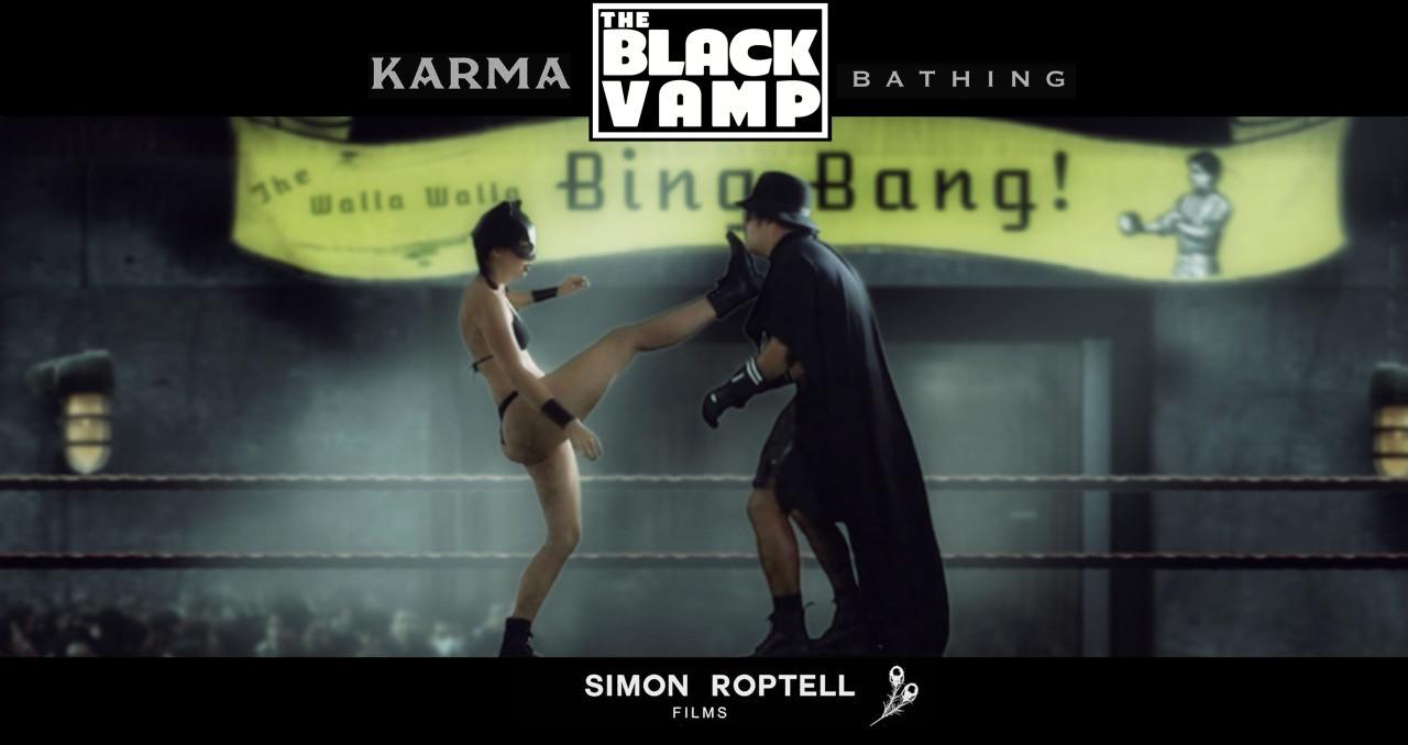 Karma Bathing. Black Vamp. Roptell