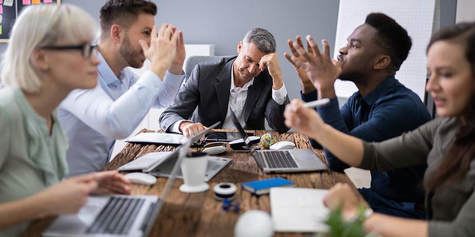 THE ART OF PRODUCTIVE CONFLICT SMALL GROUP COACHING