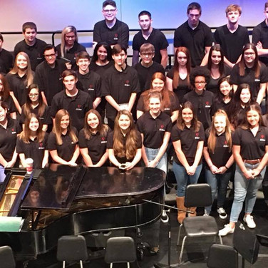 The 2017-2018 choirs