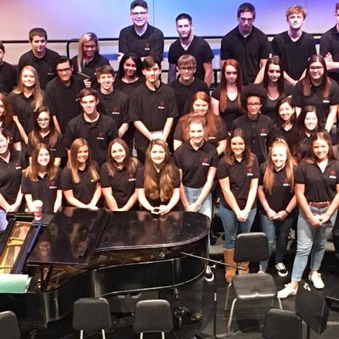 The 2017-2018 choirs