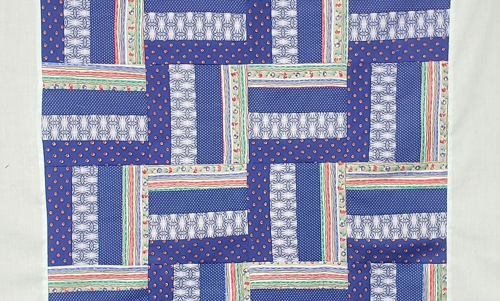 Split Rail Fence - Digital Quilt Pattern