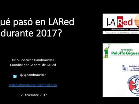 Segunda conferencia general de LARed -2017