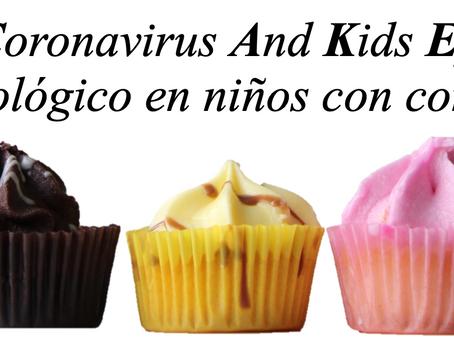 CAKE study - Estudio epidemiológico en niños con coronavirus crítico.