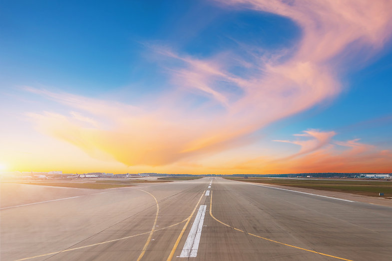 empty-runway-evening-airport-during-suns