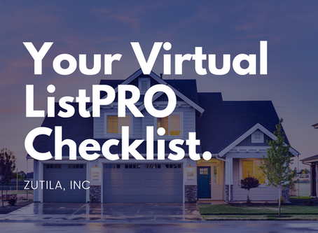 Your Virtual ListPRO Checklist