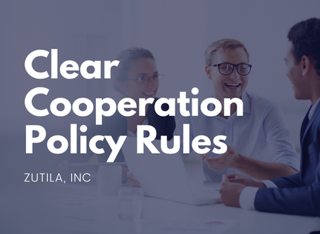 Clear Cooperation Policy Rules
