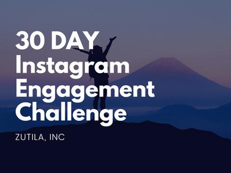 30 Day Instagram ENGAGEMENT Challenge...
