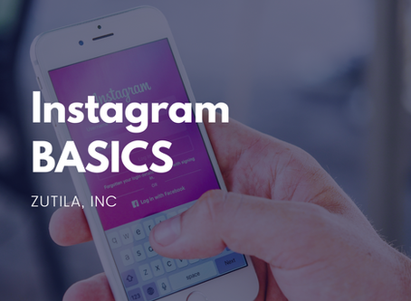 Instagram BASICS : Review Presentation