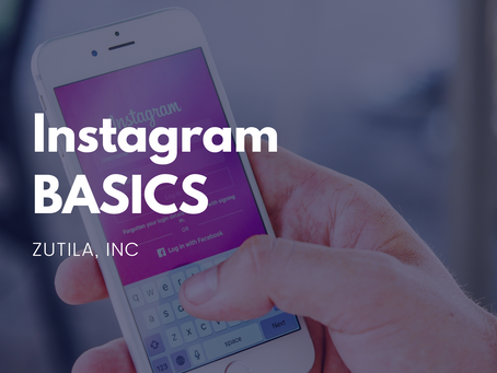 Instagram BASICS : Review Presentation