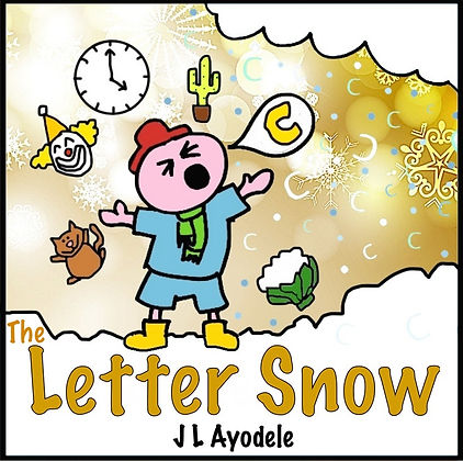 Letter snow book