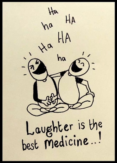 Laughter is a healer