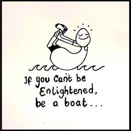 Being a boat is a great alternative