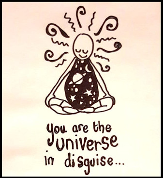 The universe is within