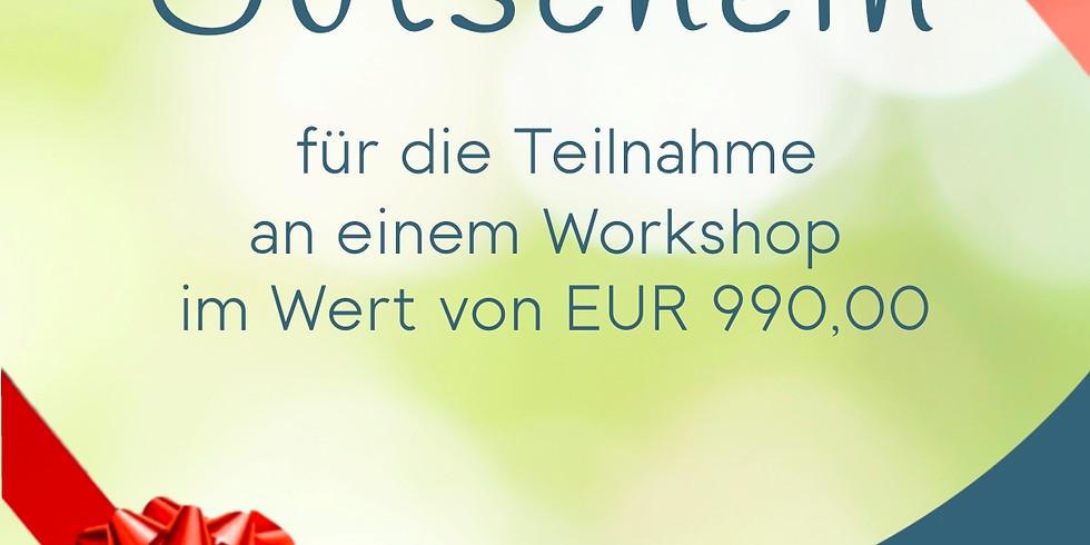 Gutschein zur Teilnahme an einen Workshop der Forschungszentrum für Bewusstsein GmbH