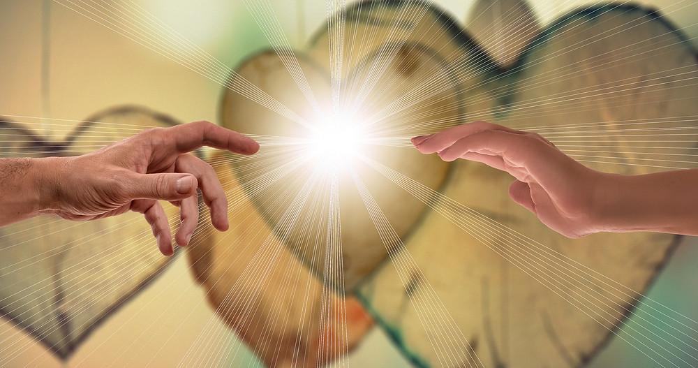 Liebe ist die Wahrheit hinter den Schleiern.