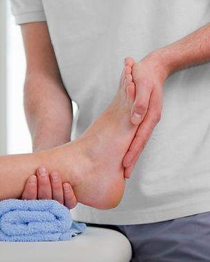 Picture of feet / orthotics