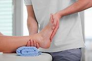 Massage des mollets et des pieds