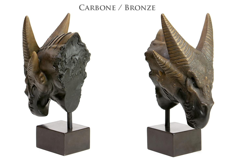 Durkorn - carbone / bronze