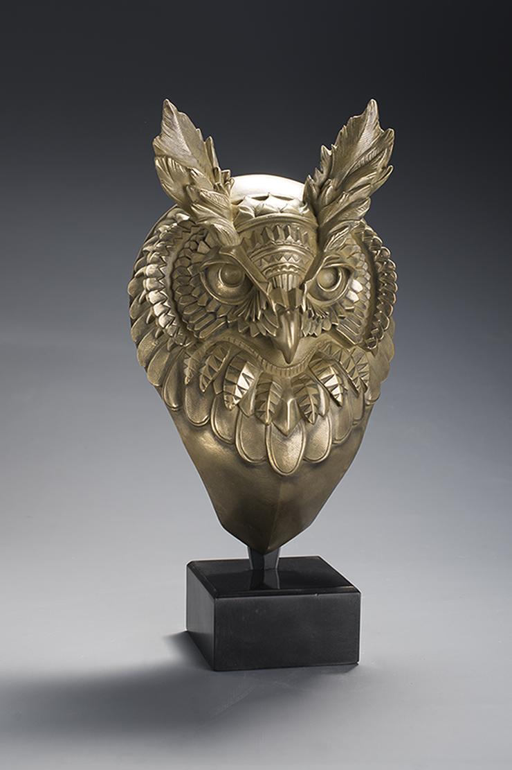 Hibou Bioworkz - bronze poli miroir
