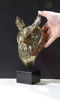 Hibou Bioworkz - Bronze poli-miroir