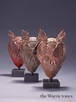 Bioworkz hornet owl trio warm tones