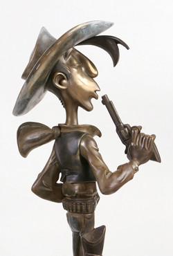 Lucky Luke - brown patina