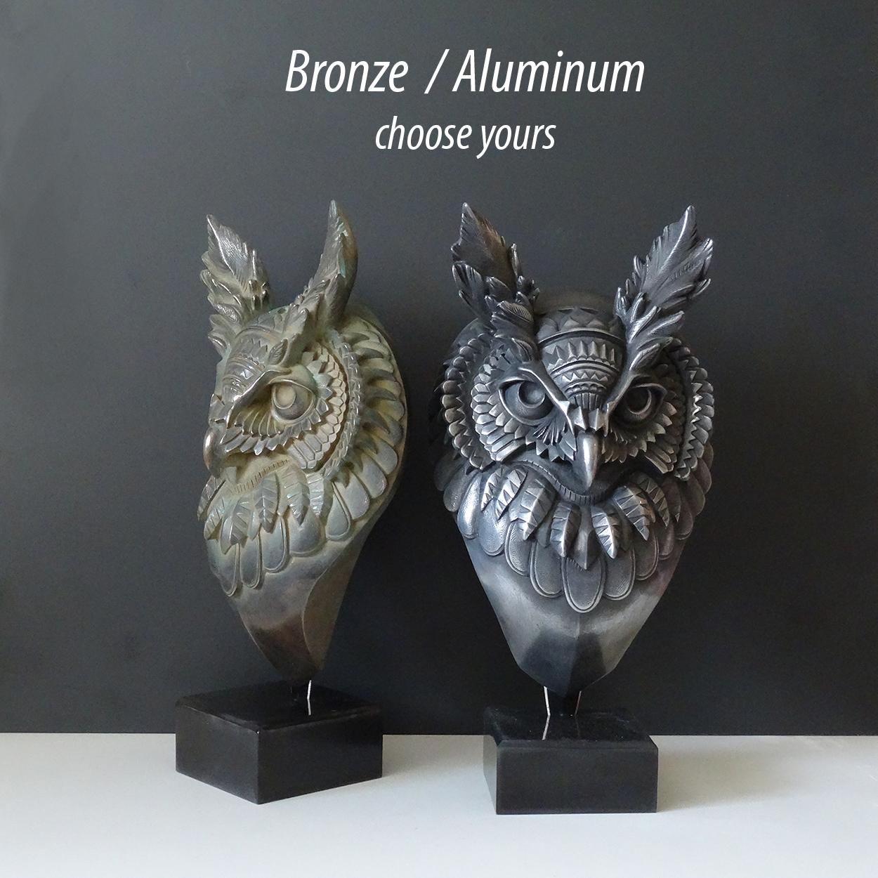 bronze ou Aluminium