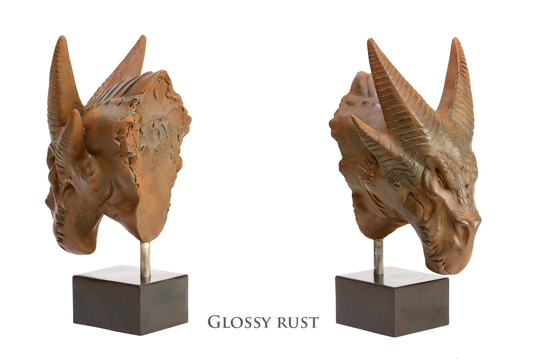 Durkorn - glossy rust