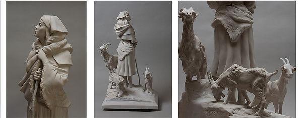 Passer commande d'une sculpture - Oeuvre d'art - Boulesteix