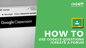 how to use google questions :create a fo