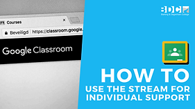 how to use the stream for individual dsu