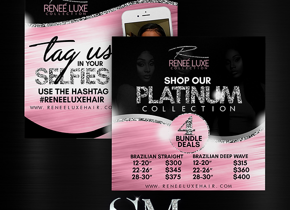2 E-FLYERS FOR $75